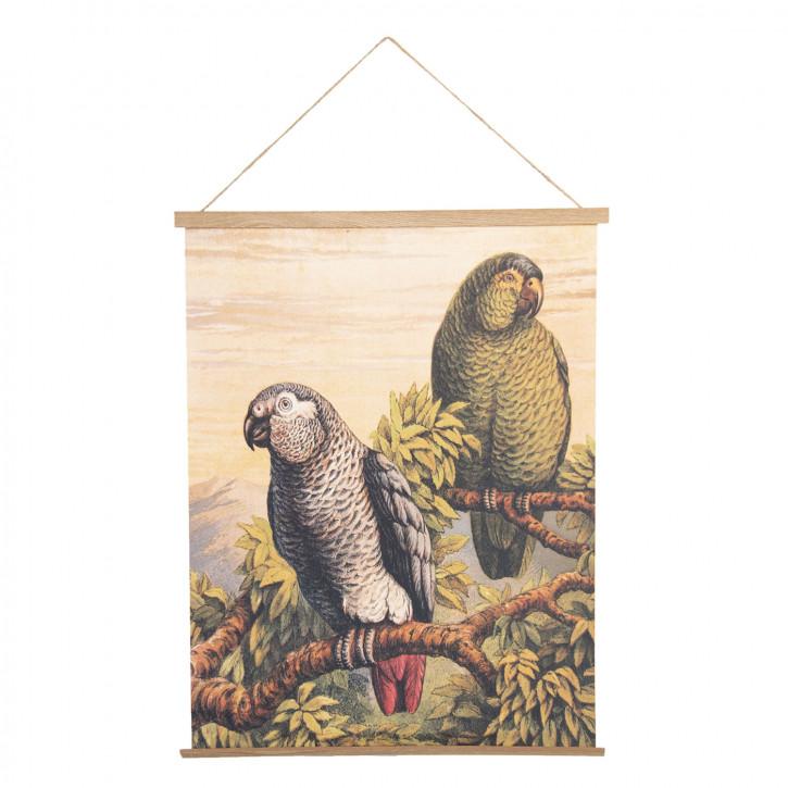 Wandkarte Vögel 50x1x65 cm
