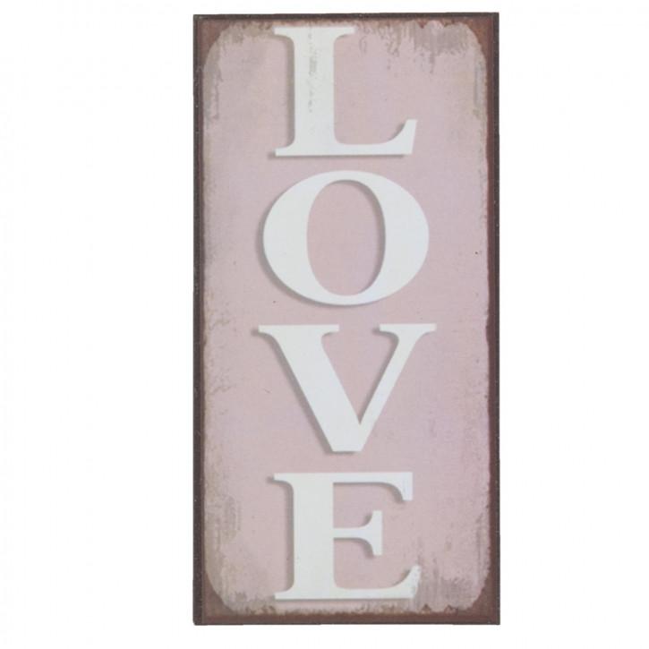 Magnet LOVE ca. 5 x 15 cm