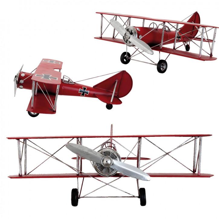 Blechmodel Airplane 60x56x22 cm