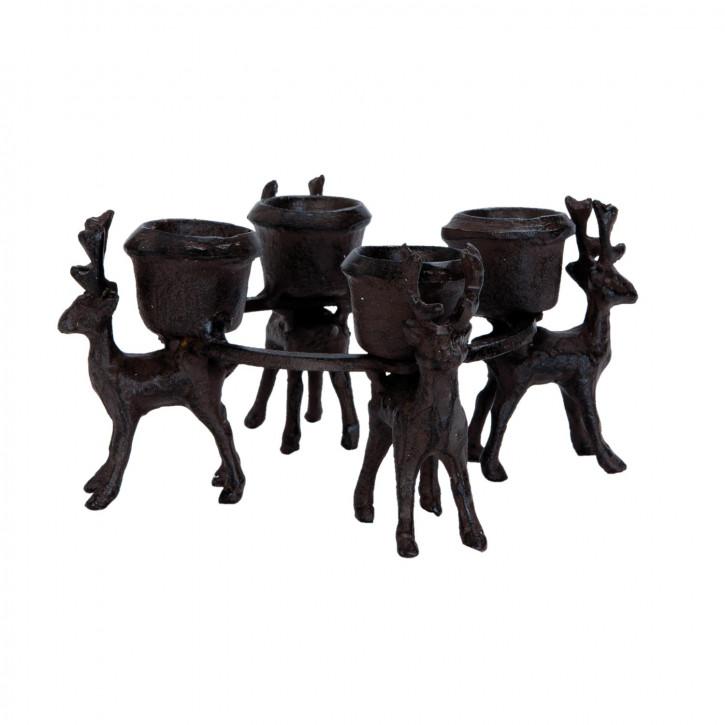 Kerzenhalter Ø 17x8 cm