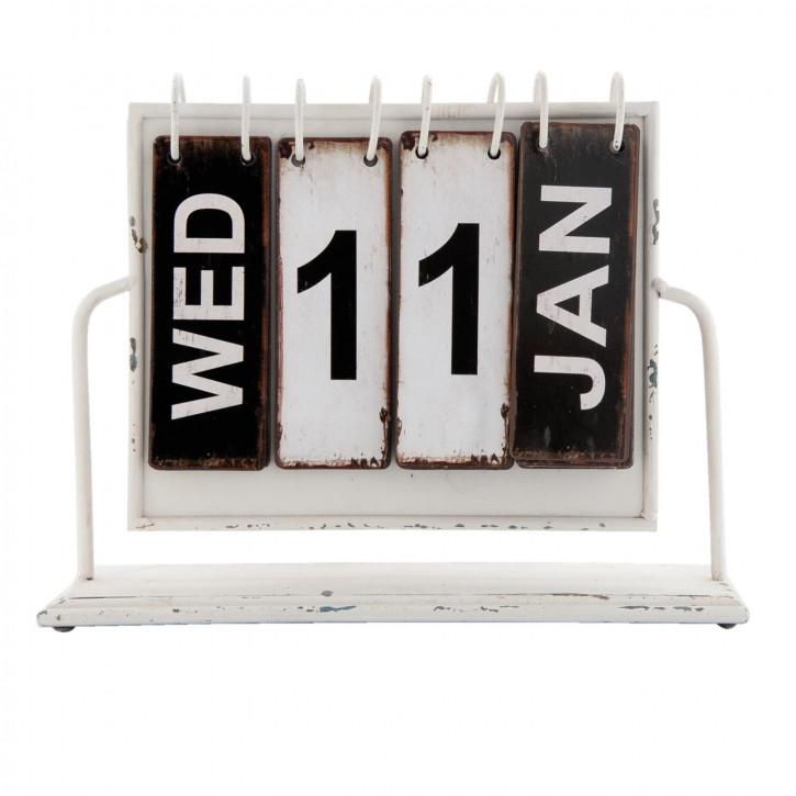 Dauerkalender ca. 26 x 8 x 22 cm