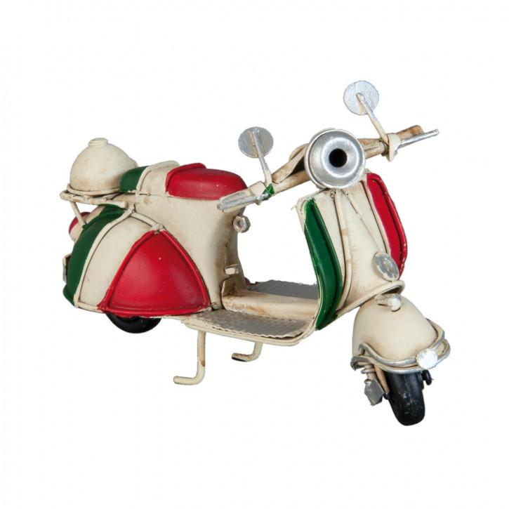 Blechmodel Scooter 11x6x8 cm