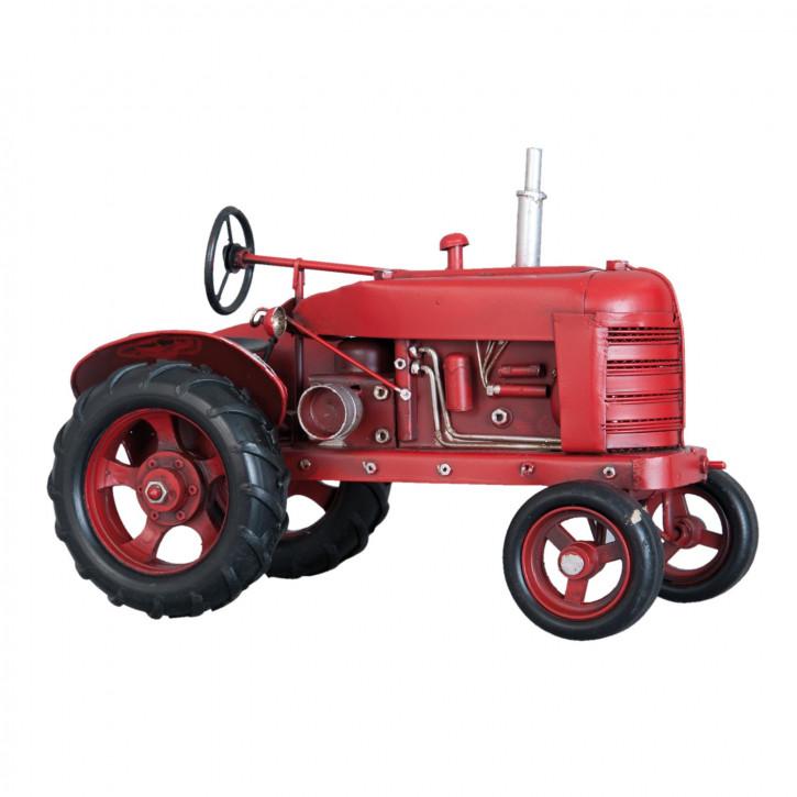 Blechmodel tractor 25x13x17 cm