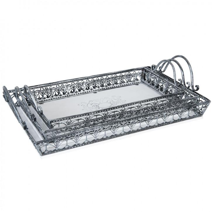 Trays (set 3) 51x33x13 / 48x28x12 / 43x23x11 cm