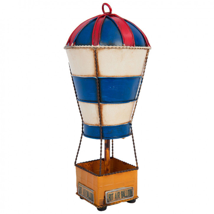 Blechmodel balloon 11x11x25 cm