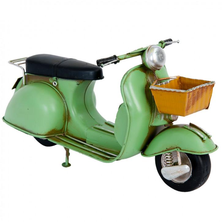 Blechmodel scooter 29x10x15 cm