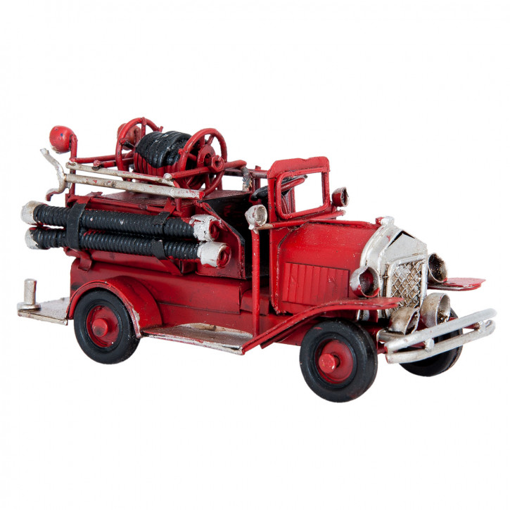 Blechmodel fire engine 11x4x5 cm