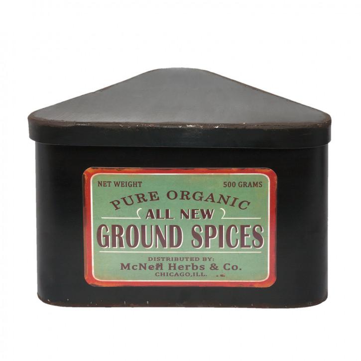 """Schachtel """"Ground Spices"""" 21x19x13 cm"""