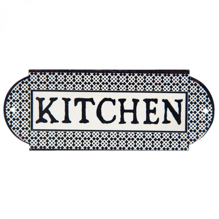 Textschild Kitchen 20x8 cm