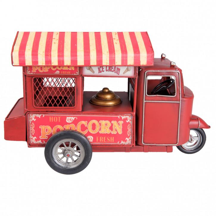 Blechmodel popcorn car 32x21x16 cm