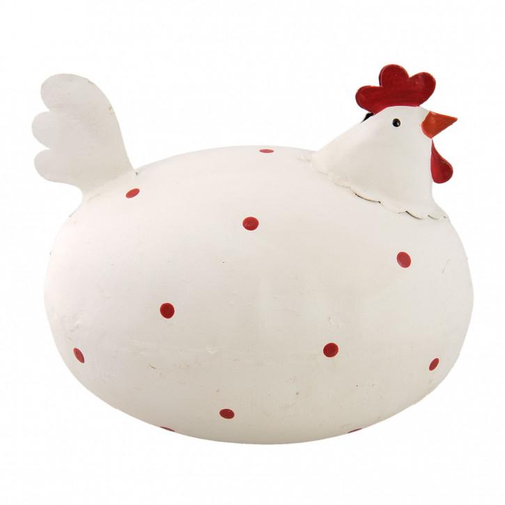 Decoration chicken 10x9x7 cm