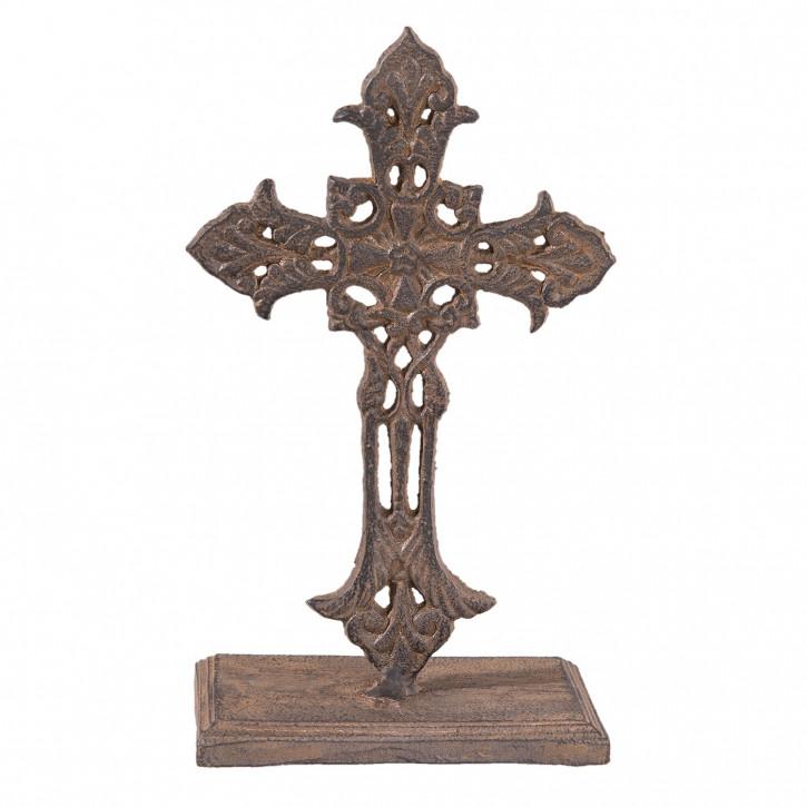 Dekoration Kreuz 13x8x22 cm