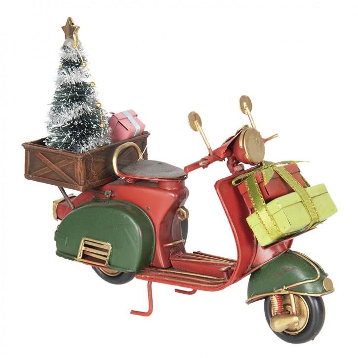 Modell Motorroller 18x7x16 cm