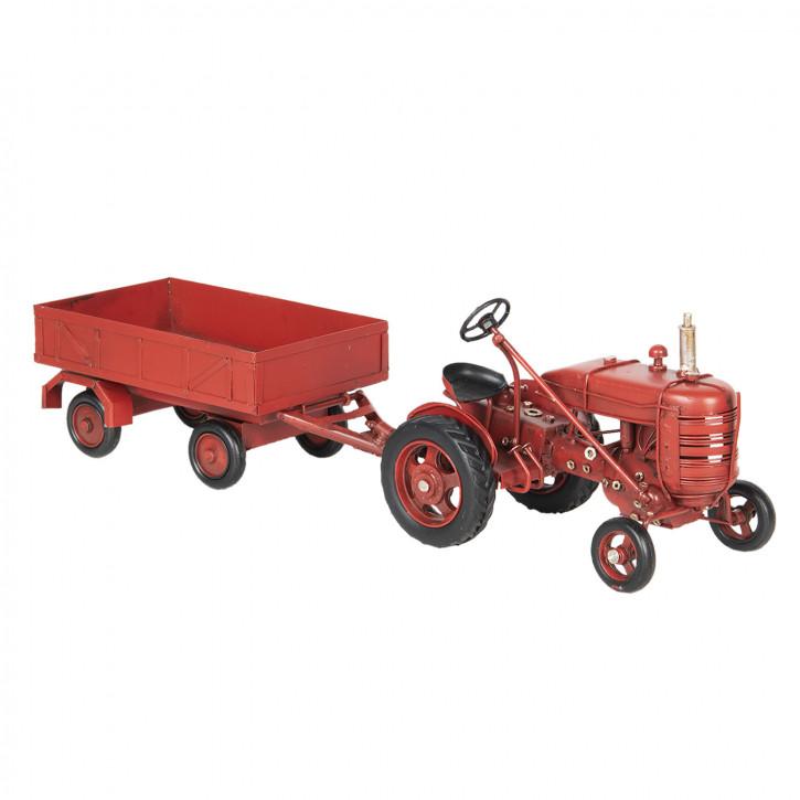 Modell Traktor mit» 17x10x12 cm / 23x10x8 cm