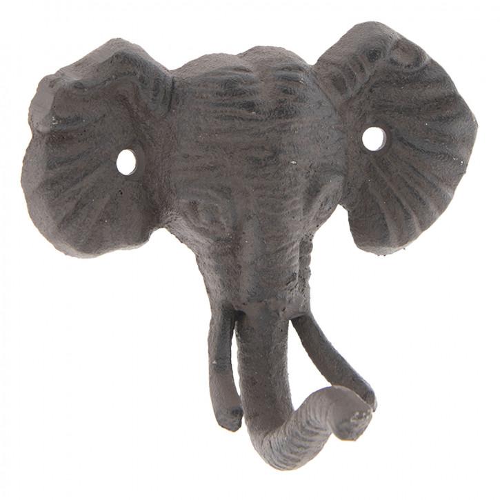 Wall hook elephant 13x7x11 cm