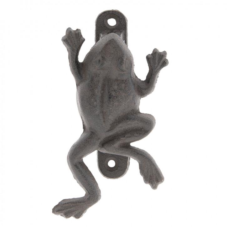 Door knocker frog 9x4x16 cm