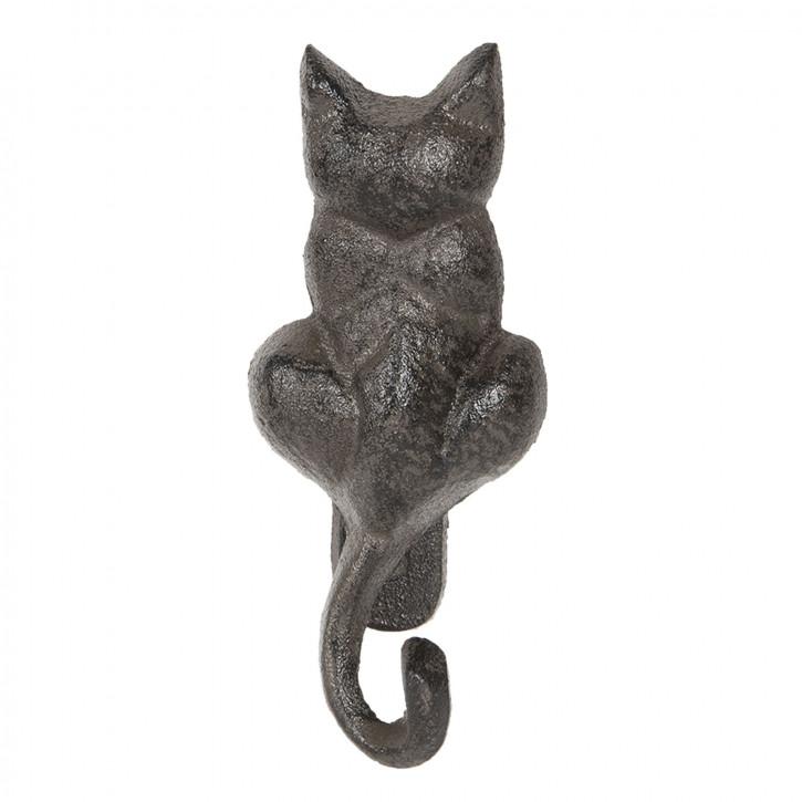 Door knocker cat 6x4x15 cm