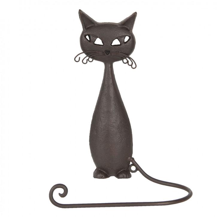 Gästetuchhalter Katze 19x9x28 cm