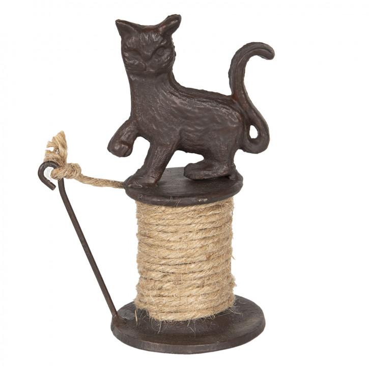 Seil-Halter Katze 11x8x16 cm