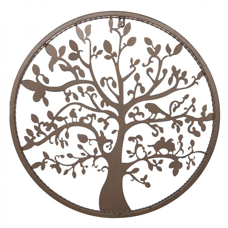 Wanddekoration Baum Ø 50 cm