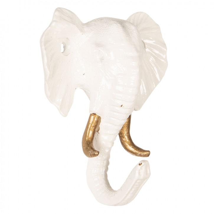 Wandhaken Elefant 8x3x9 cm