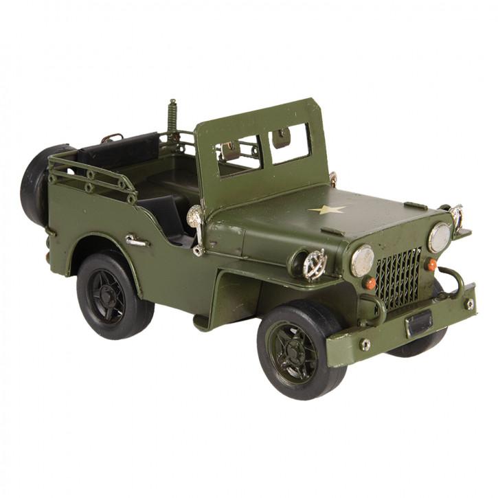 Modell Jeep 17x9x9 cm