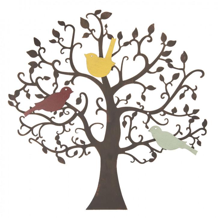 Wanddekoration Baum Ø 55 cm