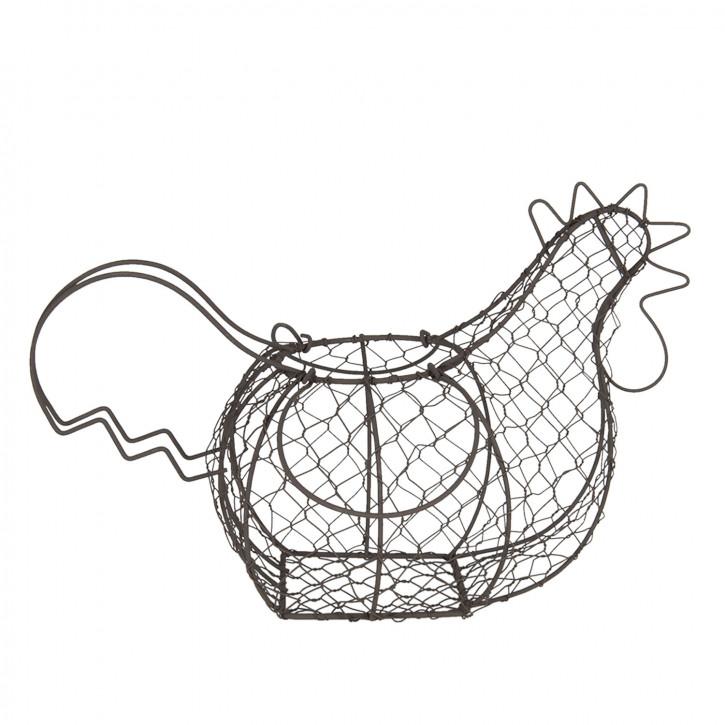 Eierhalter Huhn 40x23x28 cm