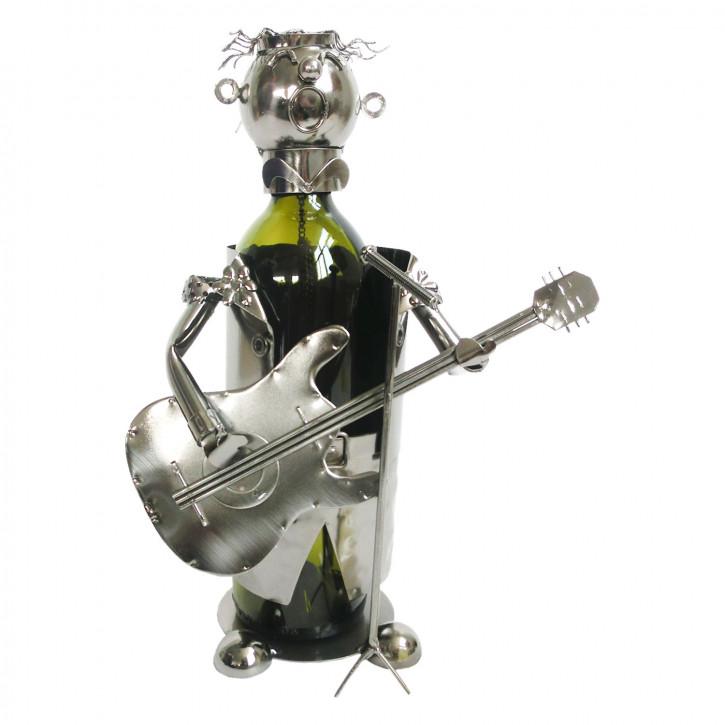 Flaschenhalter Gitarrist 18x15x21 cm