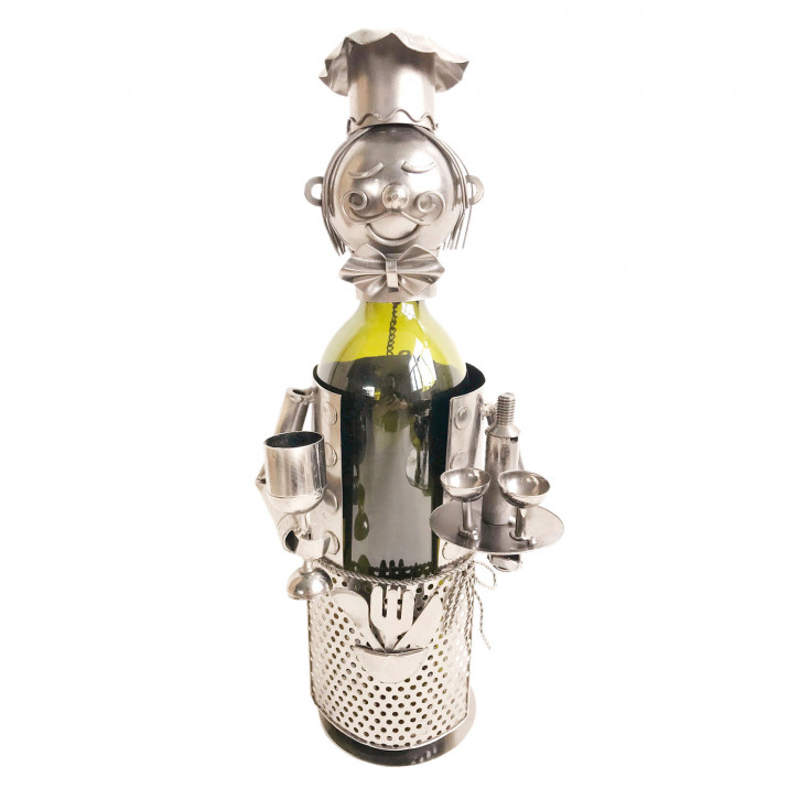 Flaschenhalter Kellner 15x13x21 cm