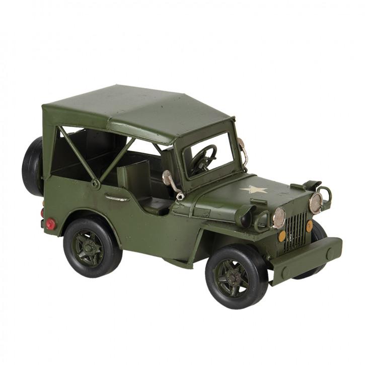 Modell Jeep 17x9x10 cm