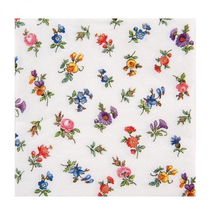 """Servietten """"Blumen"""" 33x33"""