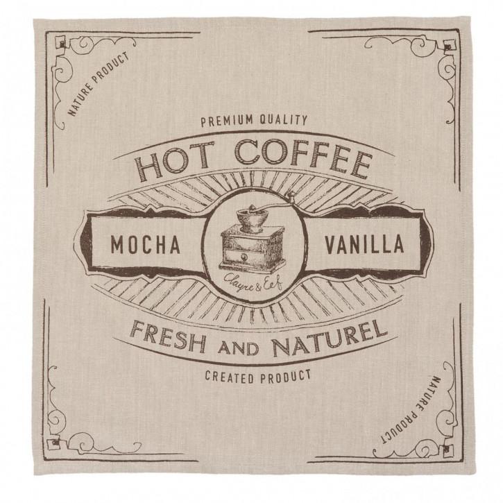 Servietten (6er Set) 40x40 cm But First Coffee
