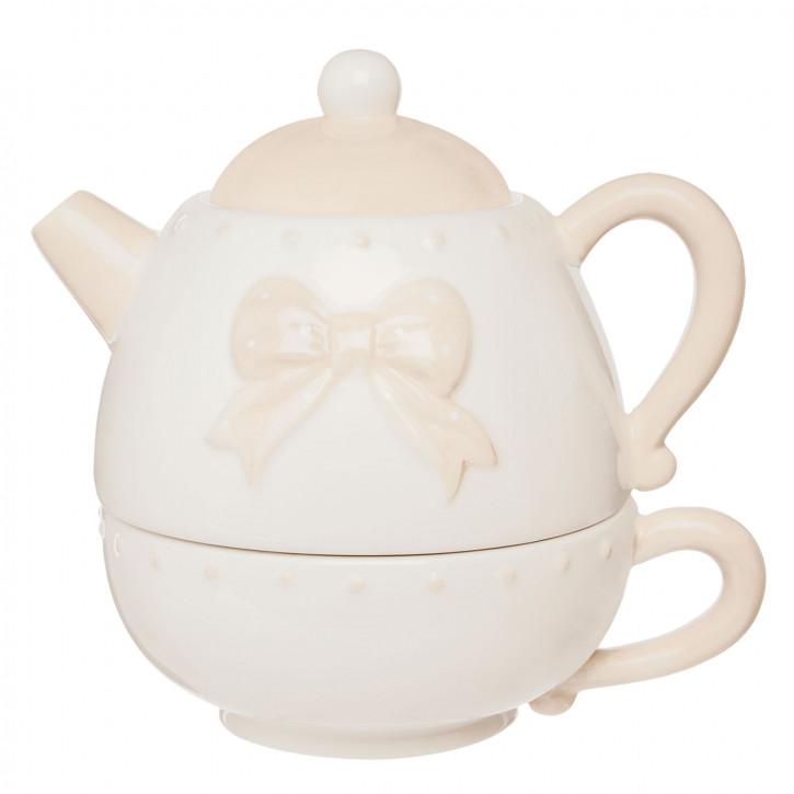 Teekanne für eine Person 15x11x13 cm