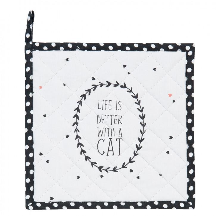 "Topflappen ""Cat Lovers""  Cat Lovers"