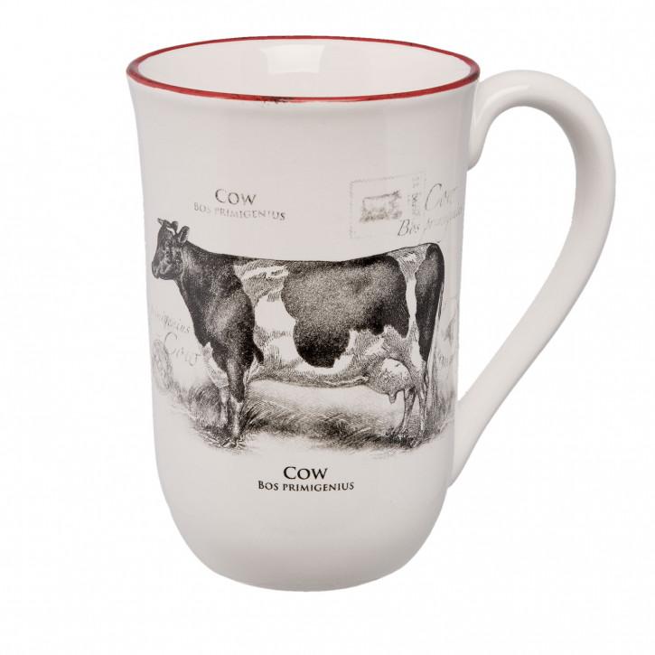 Becher groß Kuh 14x10x15 cm / 0.5 L