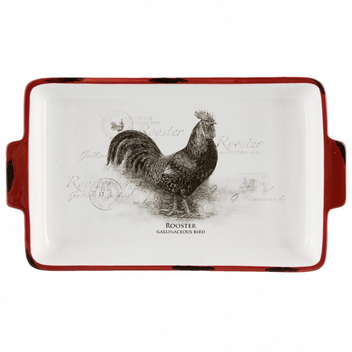 Teller chicken 30x18x4 cm