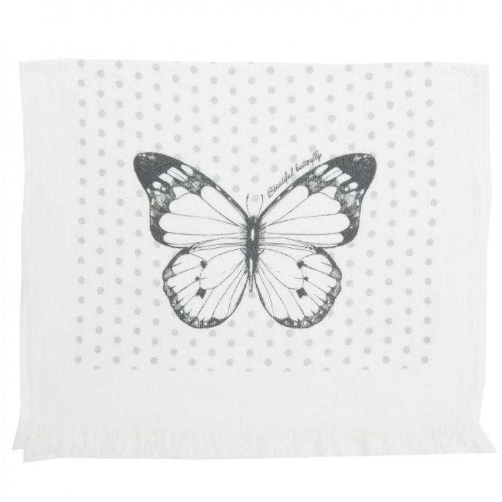 Gästentuch Schmetterling ca. 40 x 60 cm