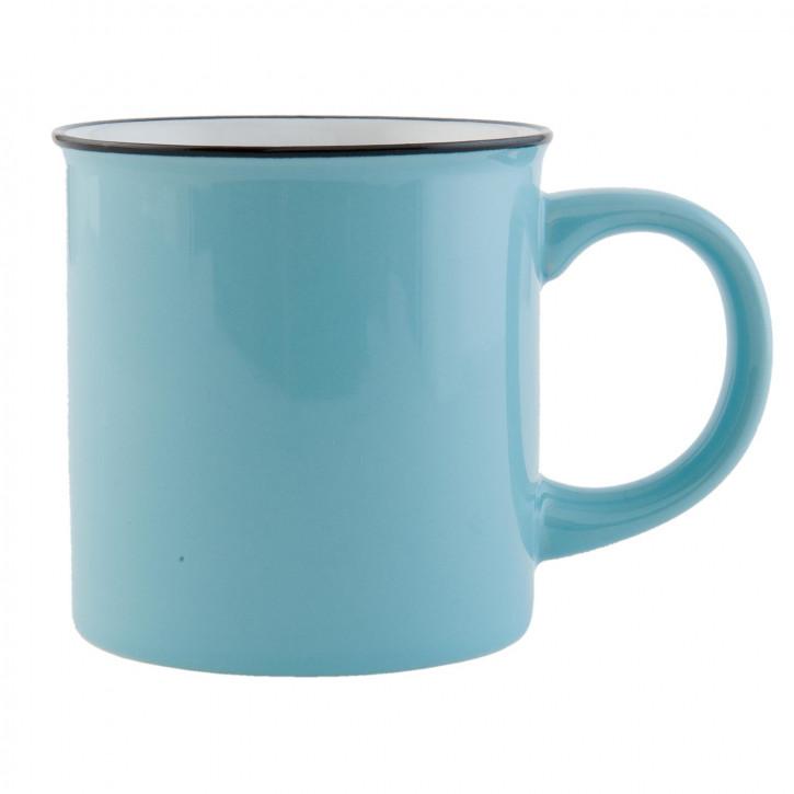 Tasse blau Ø 8x8 cm