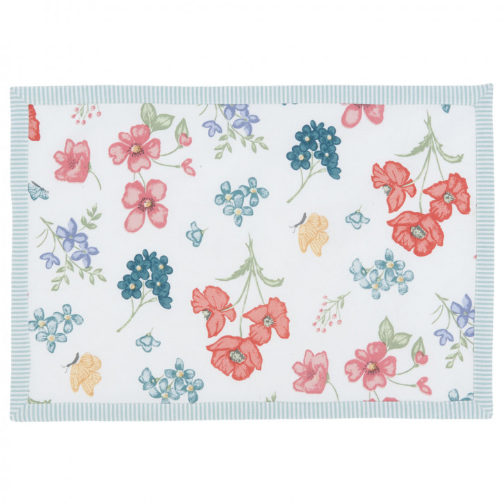 Tablemat 6 pieces 48x33 Field Flowers