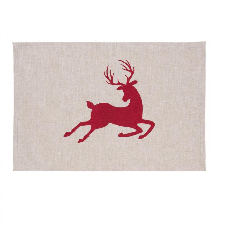 Tablemat 6 pieces 48x33 Hello Deer