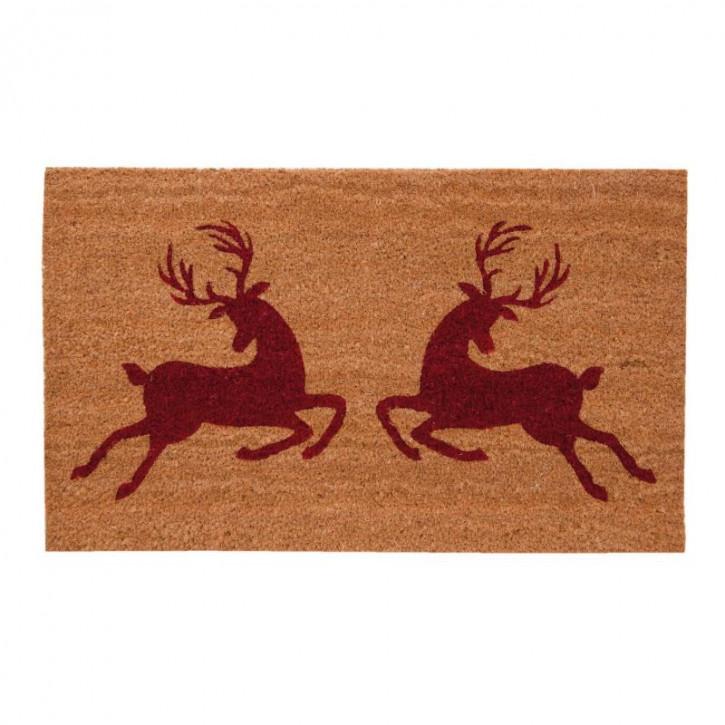 """Türmatte """"Hirsche"""" 74x44 cm Hello Deer"""