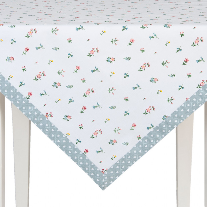 100x100 Tischdecke viereckig Frühling bunt Isnt She Lovely