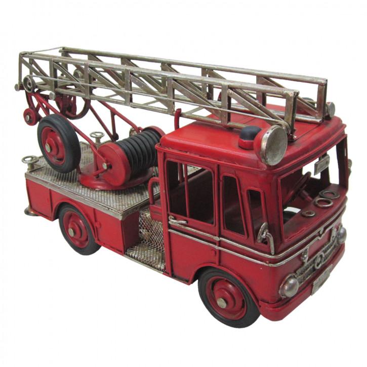 Modell Feuerwehrauto 25x11x14 cm