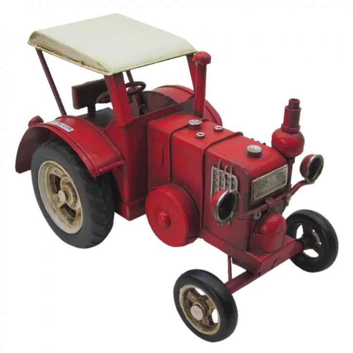 Modell Traktor 17x9x10 cm