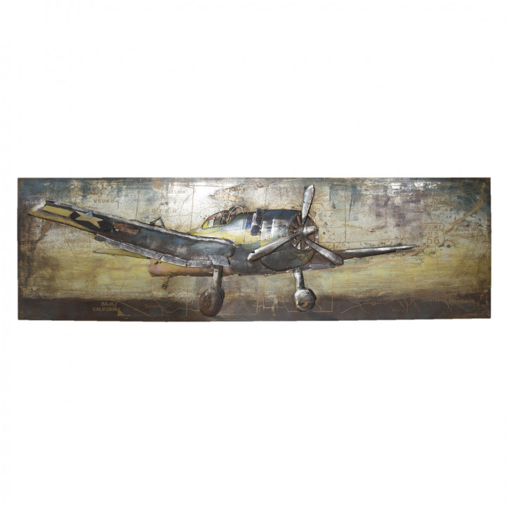 Wanddekoration 180x7x56 cm