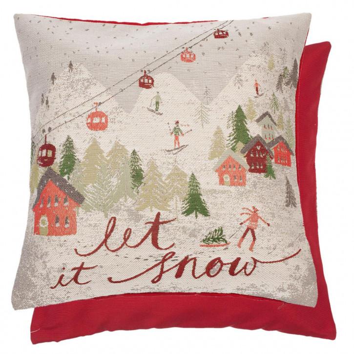 """Kissen """"Let It Snow"""" 45x45"""