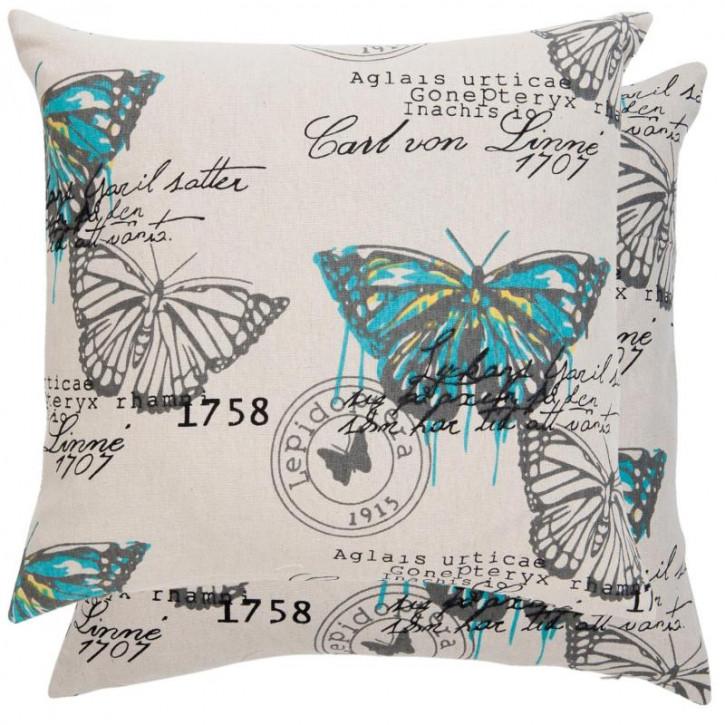 Kissenhülle Schmetterlinge 45x45