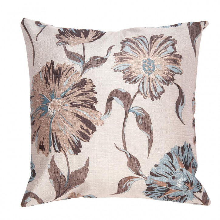 Kissenhülle Blumen 45x45