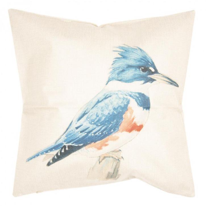 Kissenhülle Vogel 43x43 cm